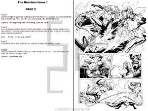 scripting comics