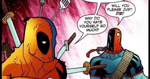 Deadpool and Deathstroke