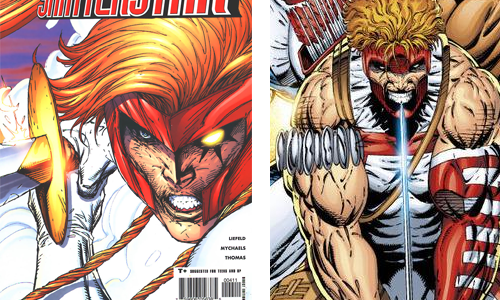 comic book character knockoffs Shatterstar and Shaft
