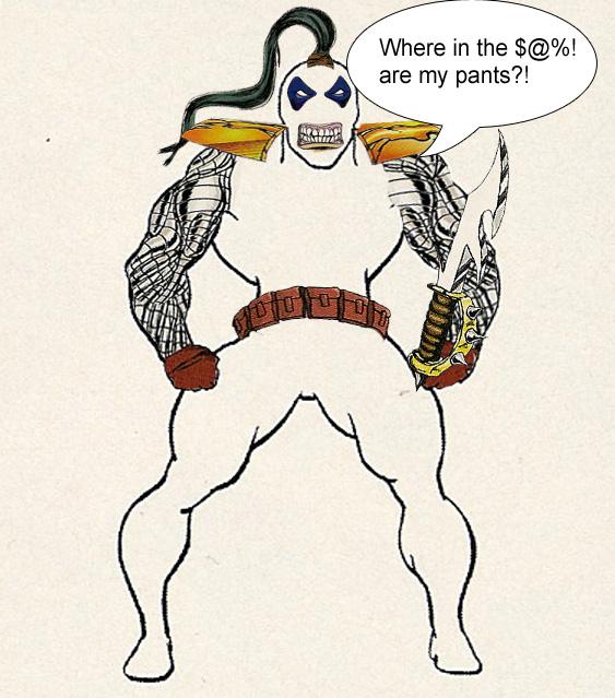 creating comic book characters 1990's Superhero