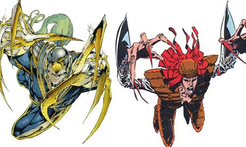 Warblade & Lady Deathstrike