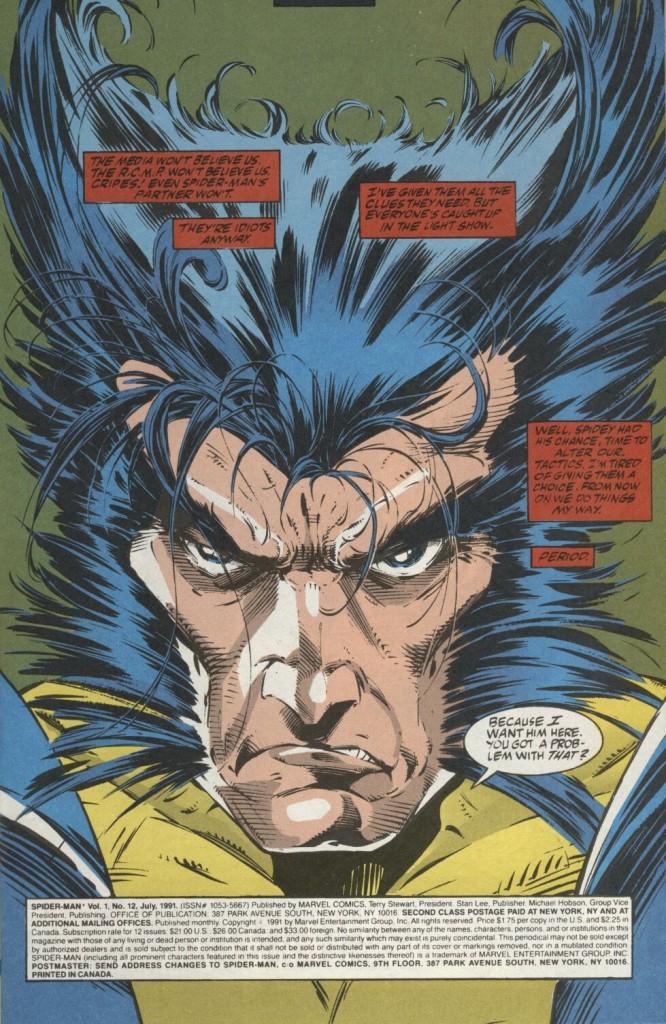 Being Wolverine