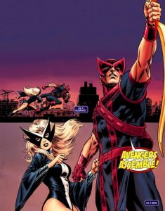 Marvel Marriages Hawkeye