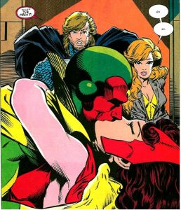 Marvel Marriages Vision Wanda