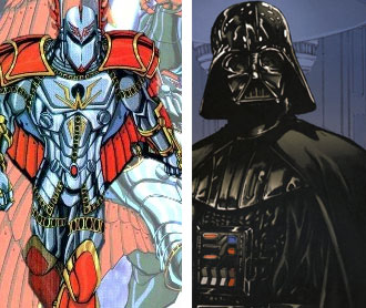 Sentry & Darth Vader double dads to Apocalypse Twins