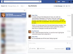 Kay Richards FB_Mark Pitta's Addiction to Illegal Prescriptions