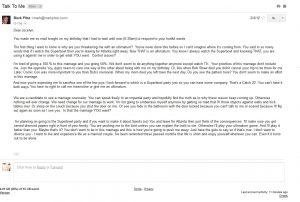 Mark Pitta email 2