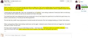 Mark Pitta email 3