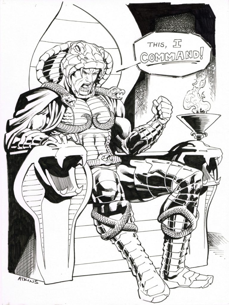 husbando Serpentor by Robert Atkins