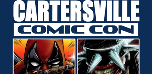 Cartersville Comic Con header